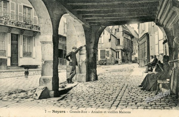carte-postale-ancienne Noyers