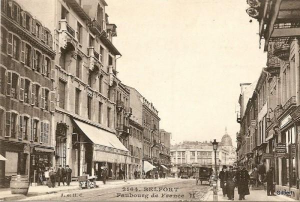 Carte postale ancienne de Belfort