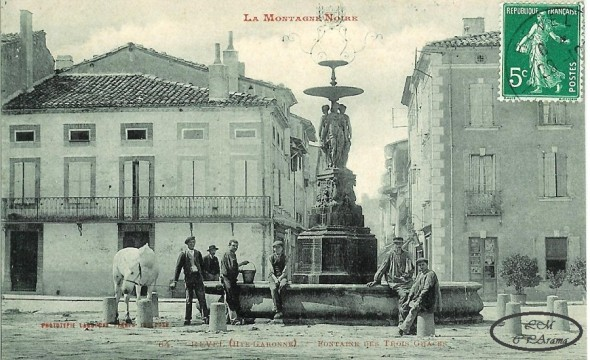 Carte postale ancienne de Revel