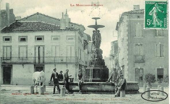 Carte postale ancienne de Revel