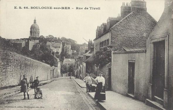carte postale Boulogne-sur-Mer