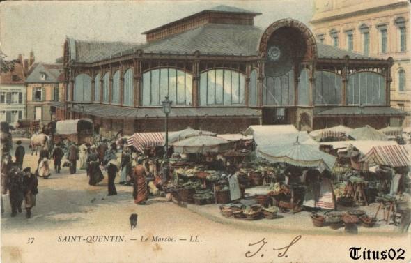 Cliquez pour visiter le forum consacré aux cartes postales anciennes de Saint-Quentin dans l'Aisne