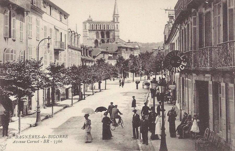 Cartes postales anciennes de bagn res de bigorre 65 - Piscine bagneres de bigorre ...