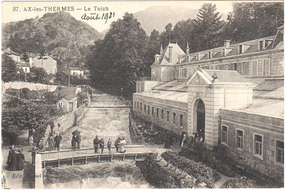 Carte postale ancienne Ax-les-Thermes
