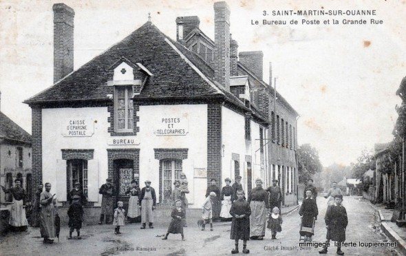 Carte postale Saint-Martin-sur-Ouanne