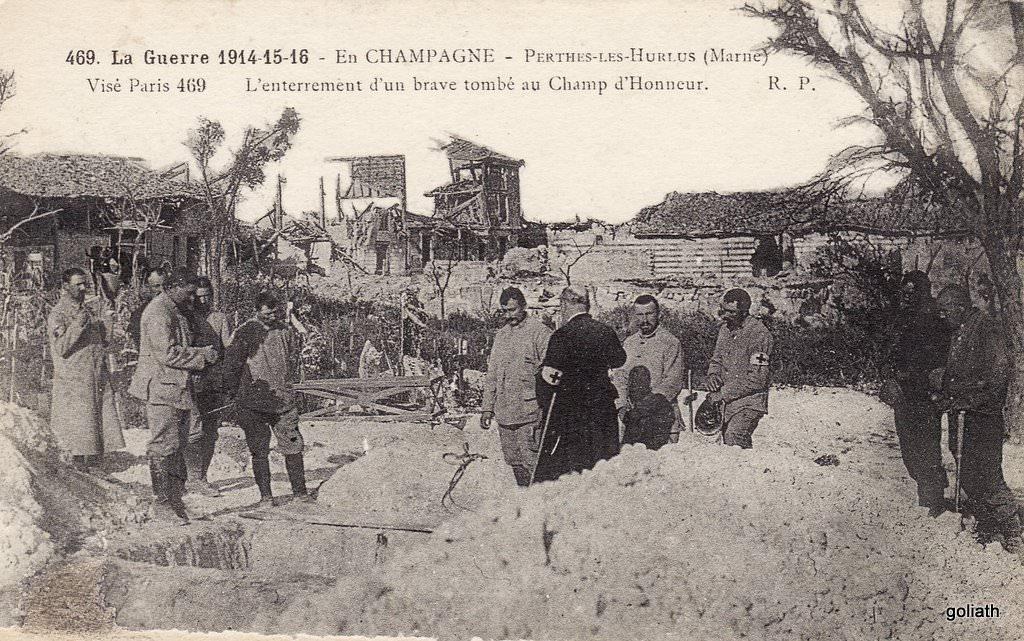 souain perthes l 232 s hurlus 51 marne cartes postales anciennes sur cparama
