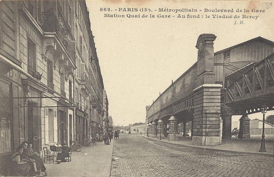 Le M Tropolitain De Paris Ligne 6 Paris Hier Aujourd