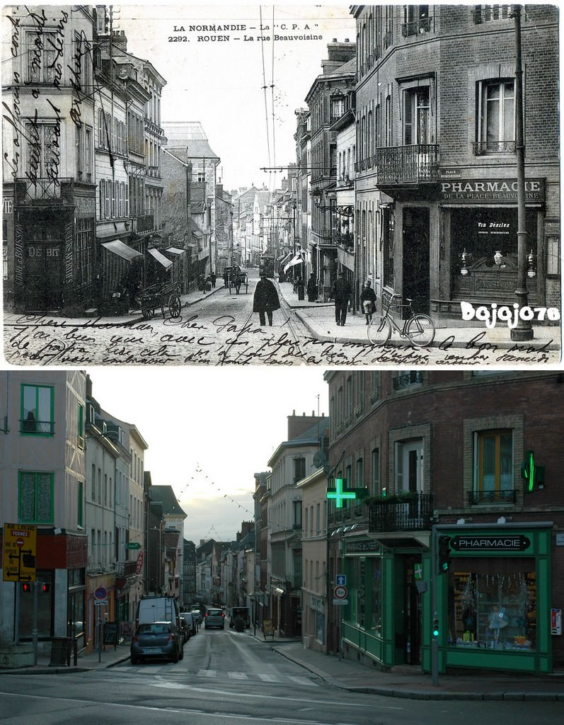 Rouen r publique ricard cartes postales d 39 hier et photos - Magasin ouvert aujourd hui rouen ...