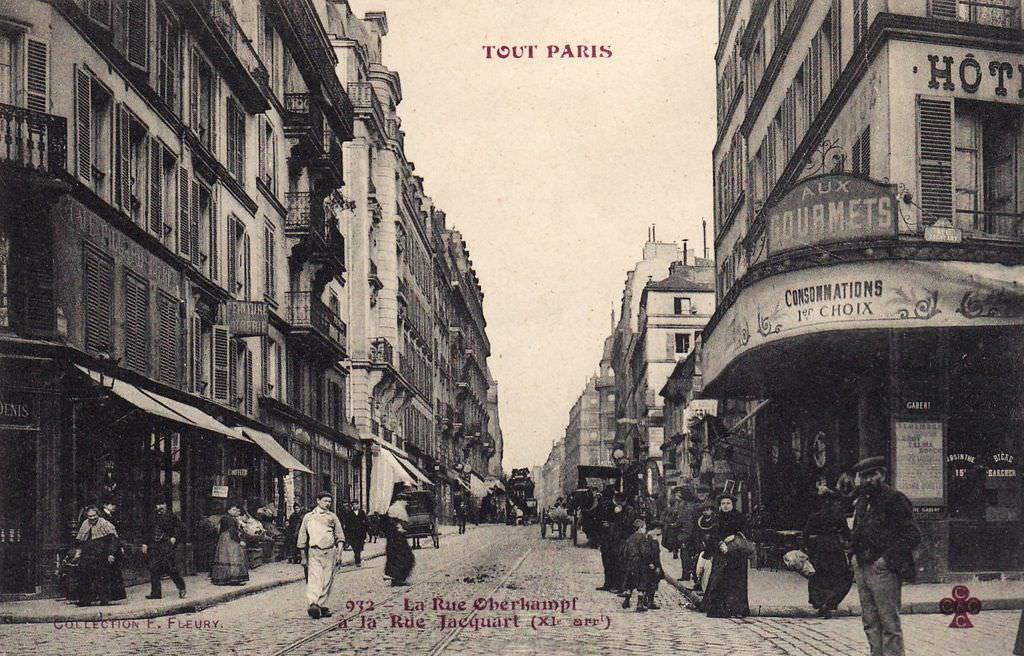 Caf Ef Bf Bd De Paris  Rue Oberkampf