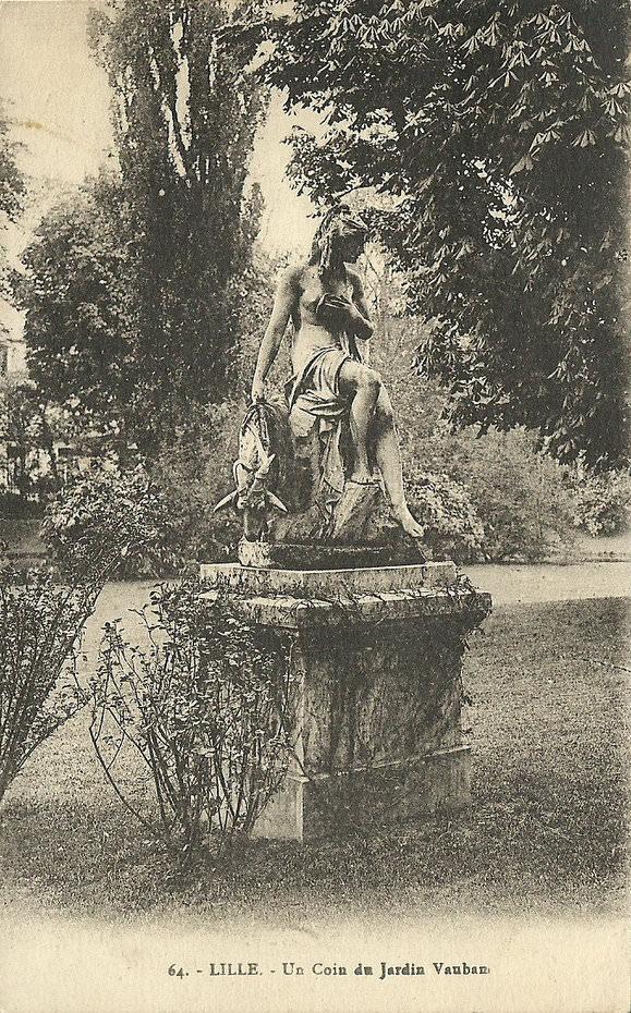 Lille jardin vauban lille cartes postales anciennes for Jardin vauban lille