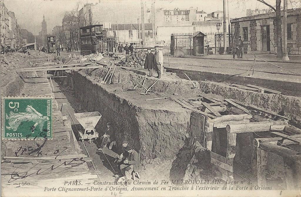 Paris porte d 39 orl ans paris xive arr cartes postales anciennes sur cparama - Arrondissement porte d orleans ...