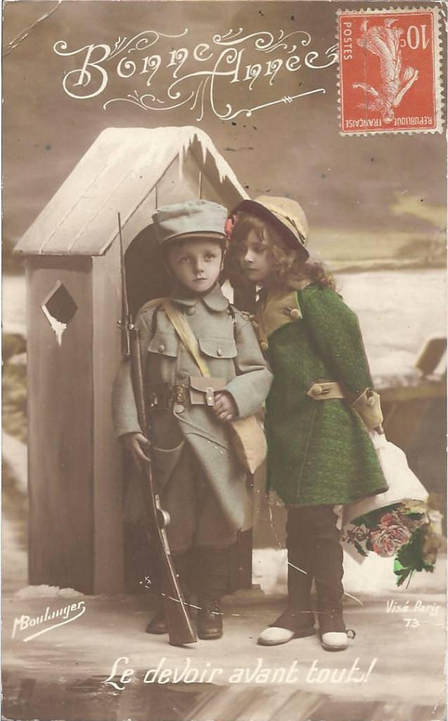 Cartes patriotiques guerre 14/18 : Militaires - Page 4 | Cartes Postales Anciennes sur CPArama
