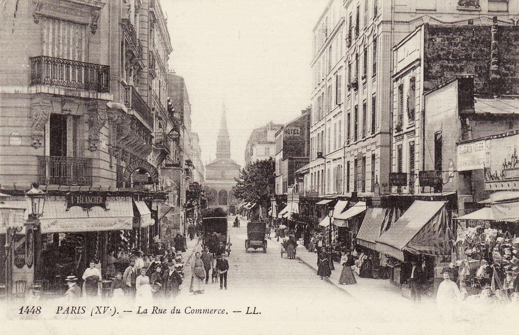 Paris rue du commerce paris xve arr cartes postales for C du commerce