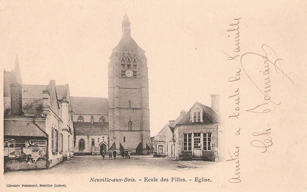 Intermarché Neuville Aux Bois - Neuville aux Bois 45 Loiret Cartes Postales Anciennes sur CPArama