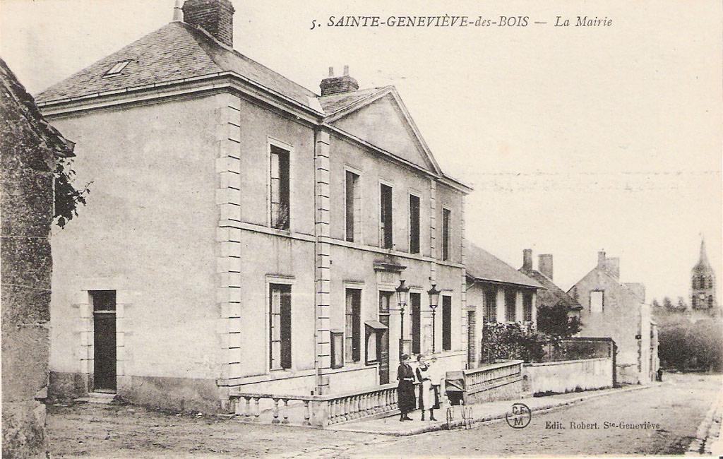SainteGenevièvedesBois  45  Loiret  Cartes Postales  ~ Interim Sainte Genevieve Des Bois