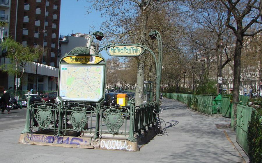 Le m tropolitain de paris ligne 5 paris hier aujourd for 4 rue richard lenoir