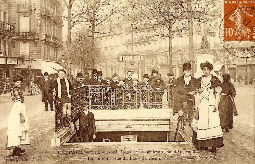 M tropolitain m tro paris 75 paris page 18 cartes postales ancienne - Poltrona frau rue du bac ...