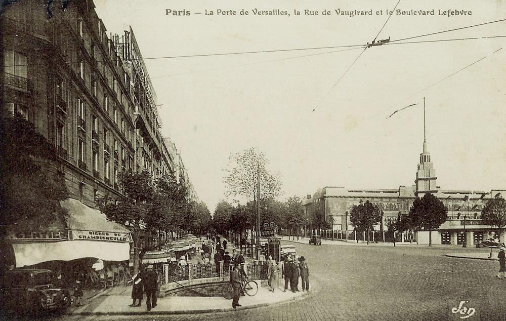 M tropolitain m tro paris 75 paris page 19 - Plan metro paris porte de versailles ...