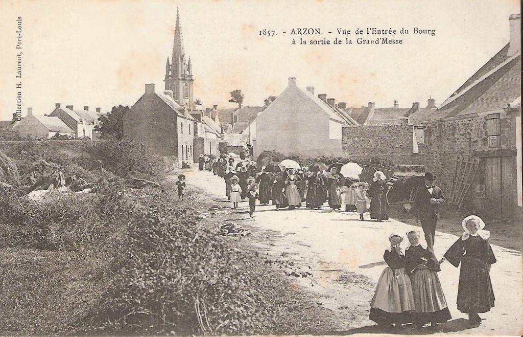 Arzon : 56   Morbihan | Cartes Postales Anciennes sur CPArama