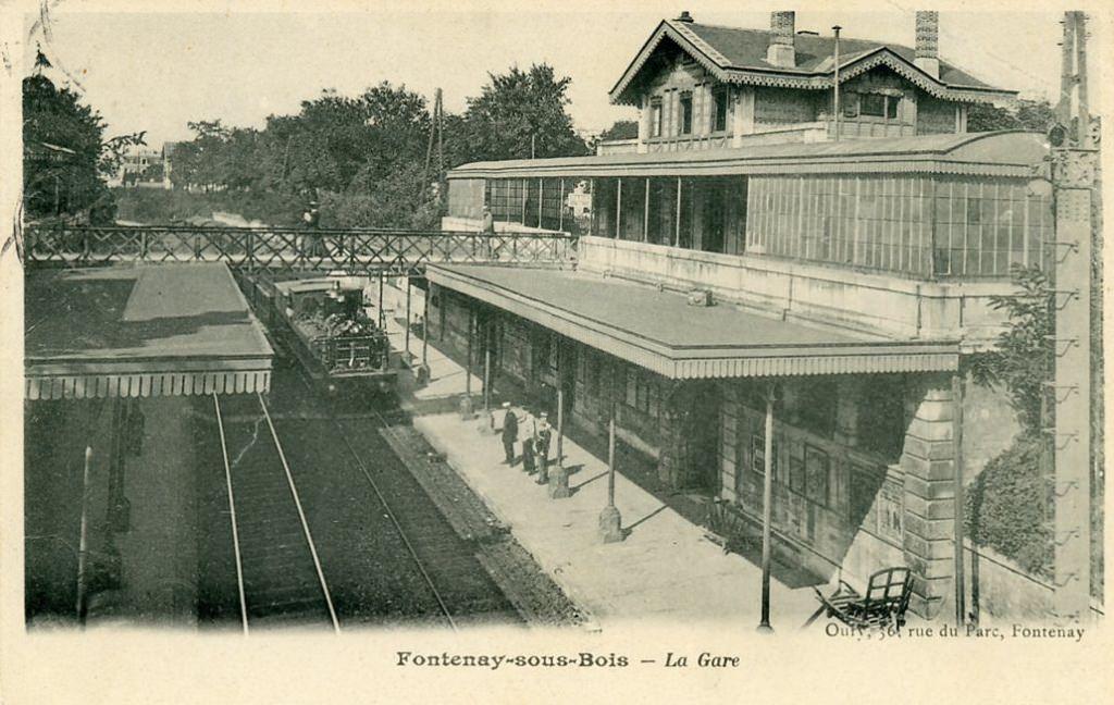 fontenay sous bois la gare oury 36 rue du parc fontenay ~ Fontenay Sous Bois Mairie