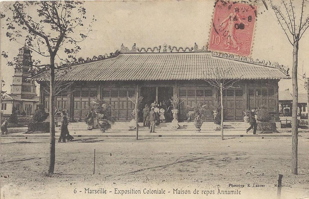 1906 marseille exposition coloniale expositions internationales cartes postales. Black Bedroom Furniture Sets. Home Design Ideas