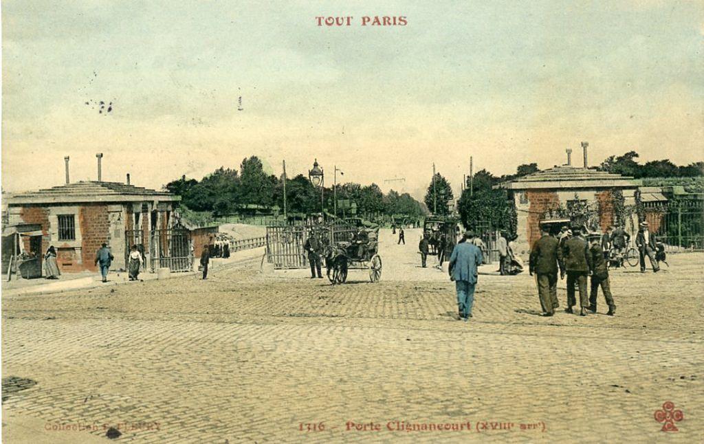 Paris porte de clignancourt paris xviiie arr cartes postales anciennes sur cparama - Prefecture de police porte de clignancourt ...