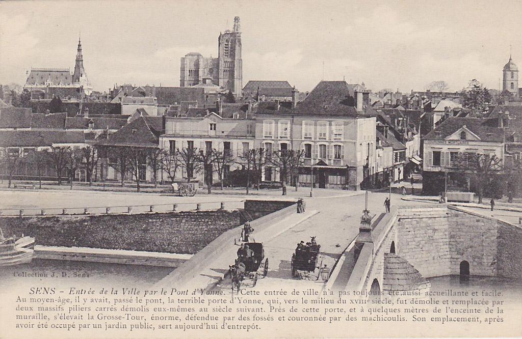 Sens 89 yonne page 2 cartes postales anciennes sur for Sens 89 yonne