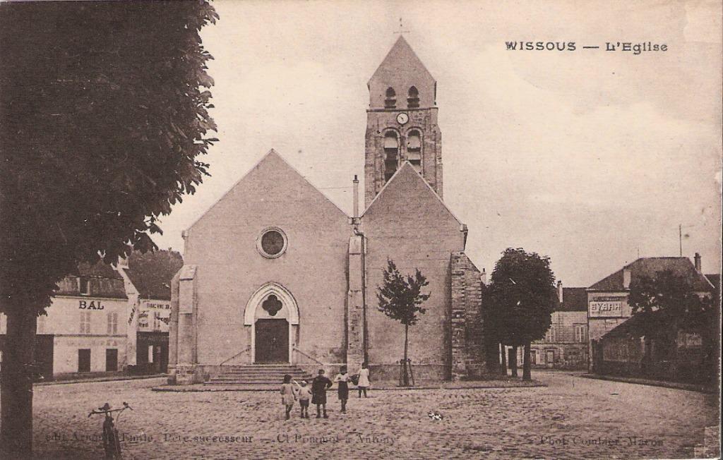 Wissous- l'Église. Carte postale ancienne