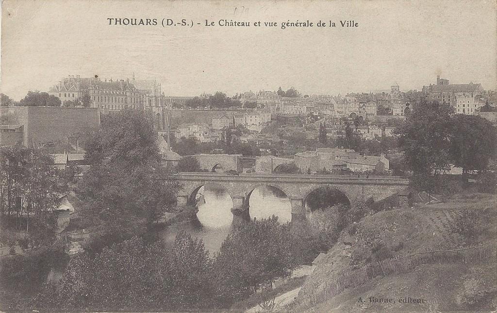 Thouars 79 deux s vres cartes postales anciennes sur for Piscine de thouars