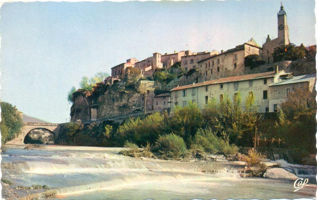 Vaison la romaine 84 vaucluse cartes postales - Hotel vaison la romaine piscine ...