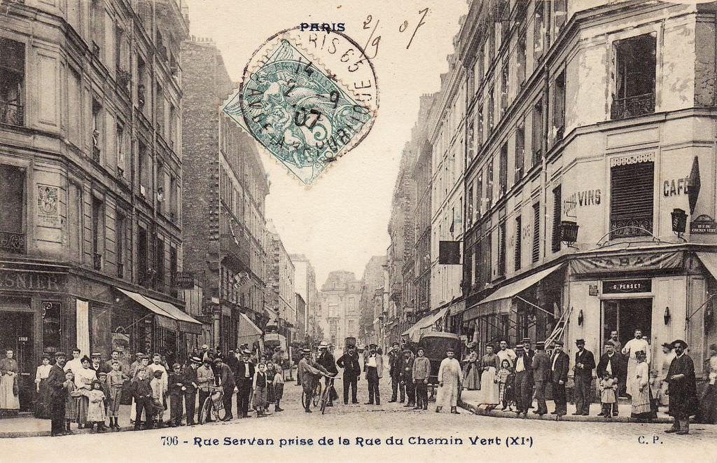 Rue Servan Paris