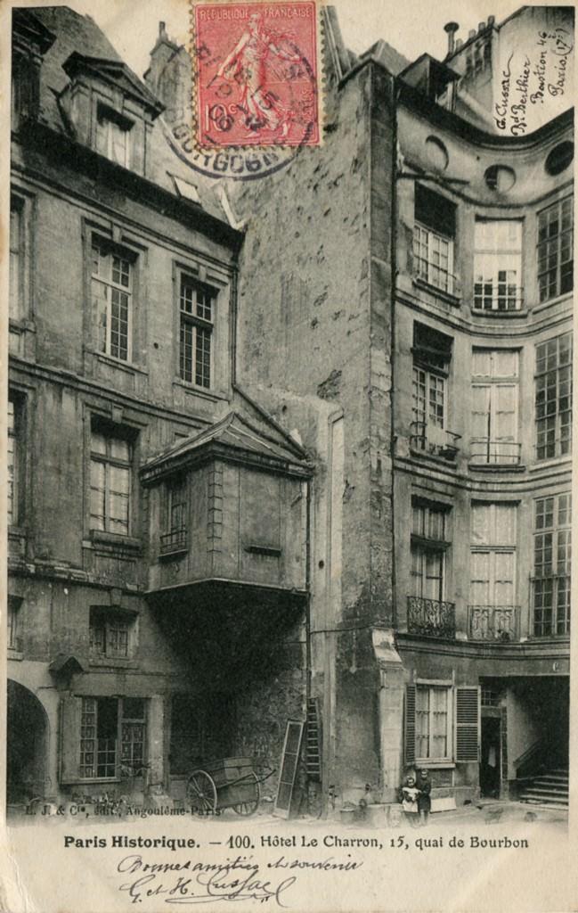 Paris - Quai de Bourbon : Paris IVe arr.   Cartes Postales ...