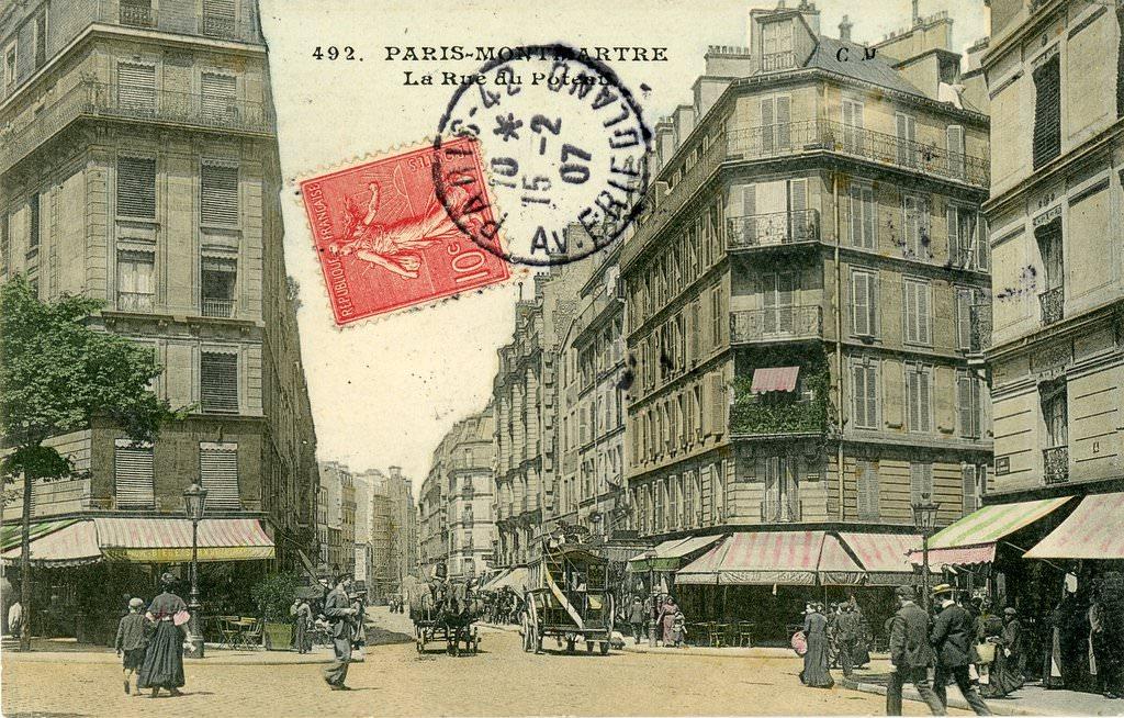 Paris rue du poteau paris xviiie arr cartes - Quincaillerie paris 16 ...