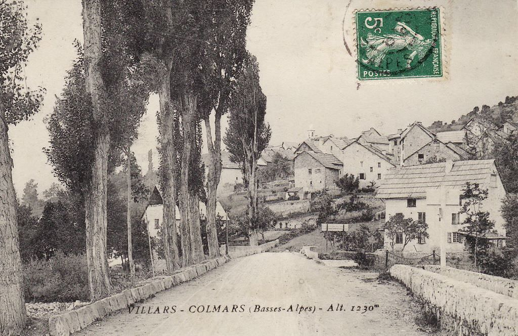 villars colmars 04 alpes de haute provence cartes postales anciennes sur cparama. Black Bedroom Furniture Sets. Home Design Ideas
