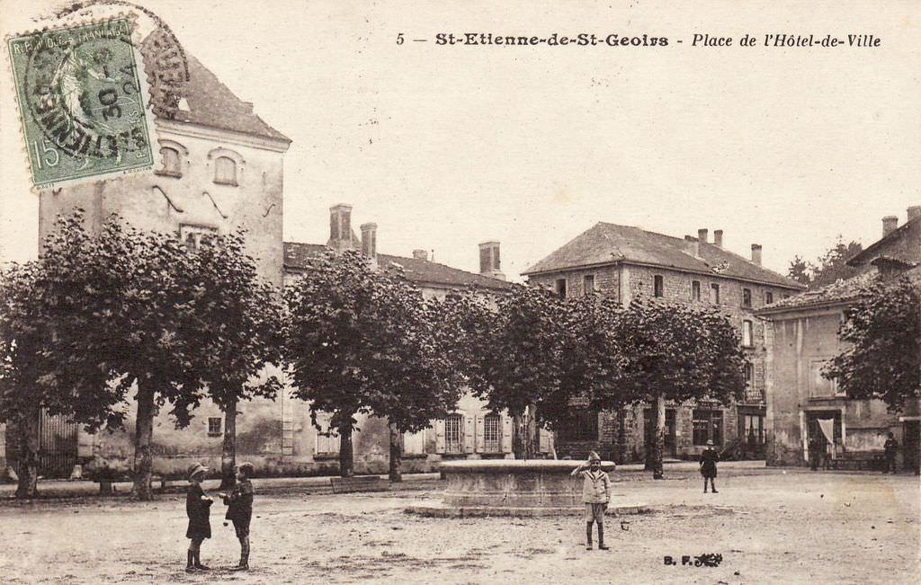 Saint etienne de saint geoirs 38 is re cartes - Piscine saint etienne de saint geoirs ...