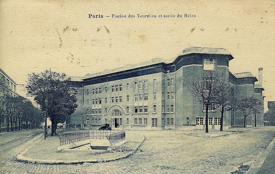 le m 233 tropolitain de ligne 3bis hier aujourd hui cartes postales anciennes
