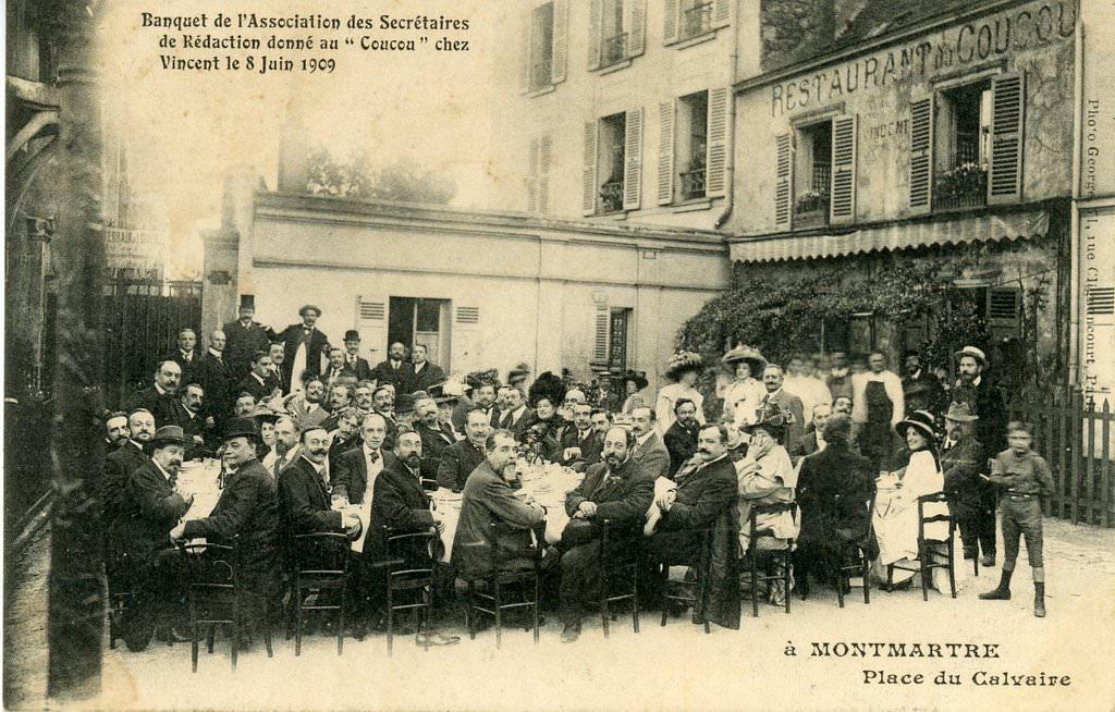 Маршрут по холму Монмартр в Париже