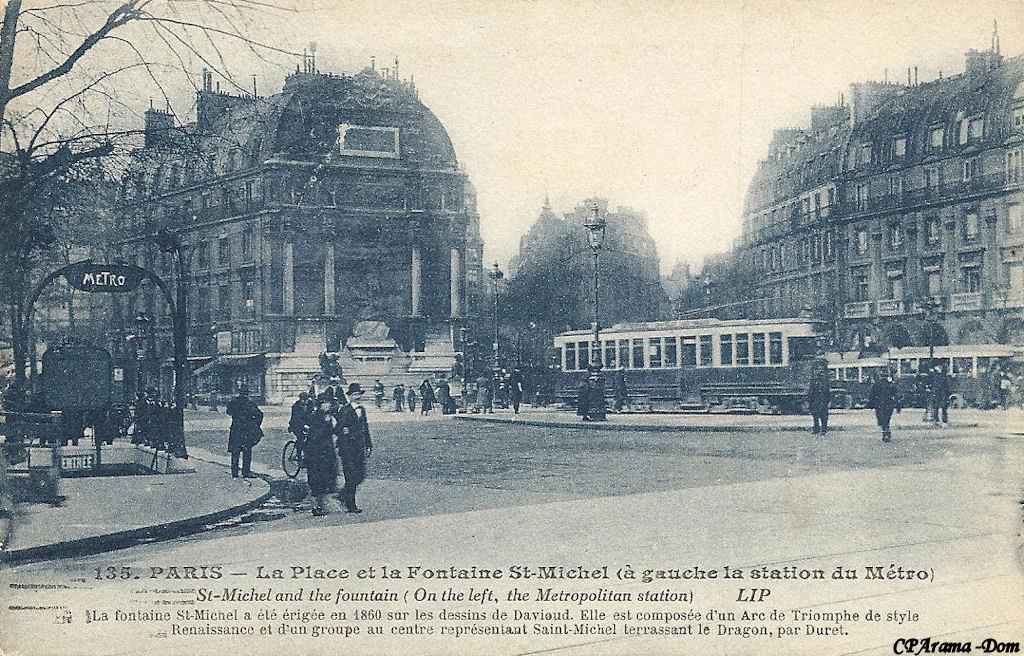 M tropolitain m tro paris 75 paris page 58 - Saint michel paris metro ...