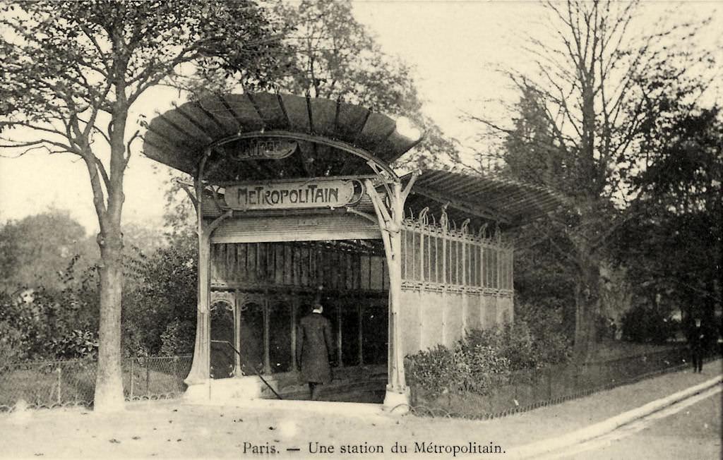 M tropolitain m tro paris 75 paris page 59 cartes postales anciennes sur cparama - Portes ouvertes paris dauphine ...