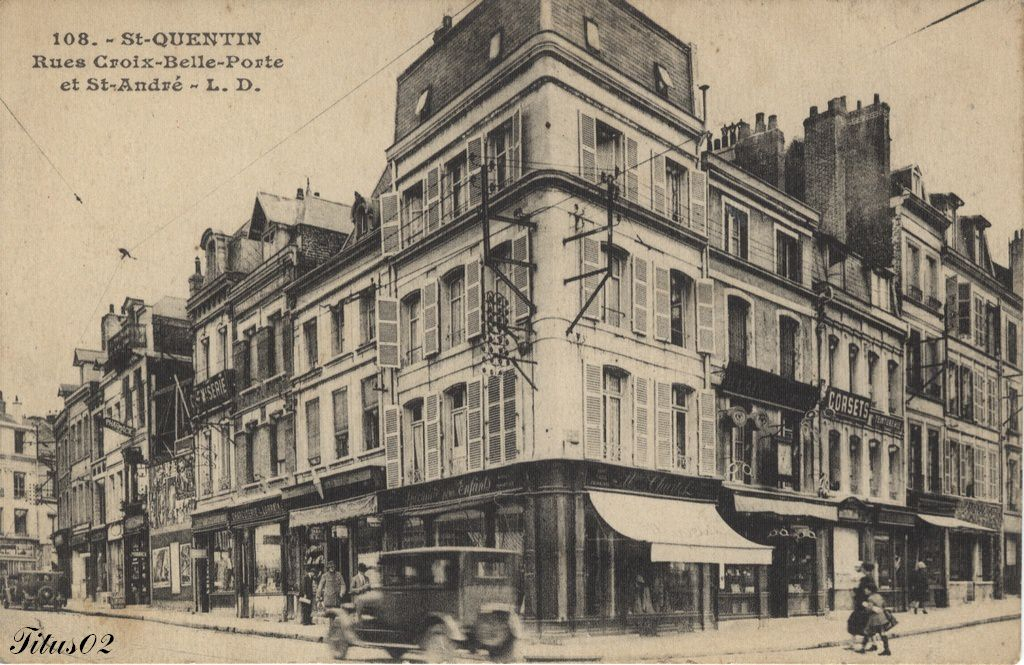 news de saint quentin page 2 cartes postales anciennes sur cparama. Black Bedroom Furniture Sets. Home Design Ideas