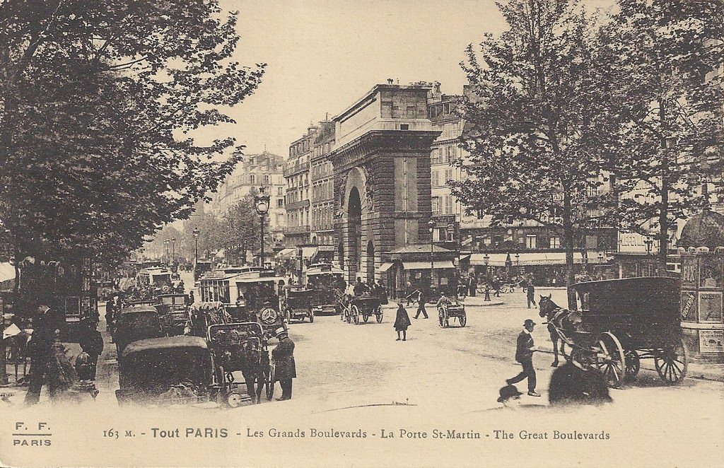 Paris Porte Saint Martin Paris Xe Arr Cartes