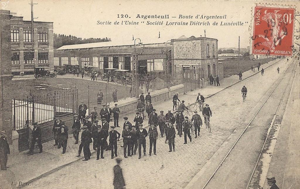 Argenteuil 95 val d 39 oise cartes postales anciennes for Imag fer forget argenteuil