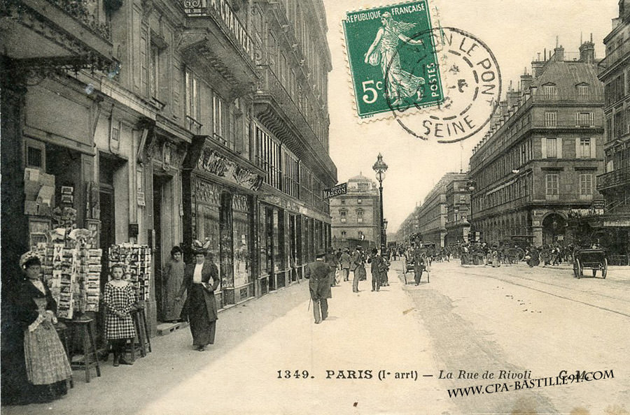 Paris Ie Arr Paris Hier Aujourd 39 Hui Cartes Postales