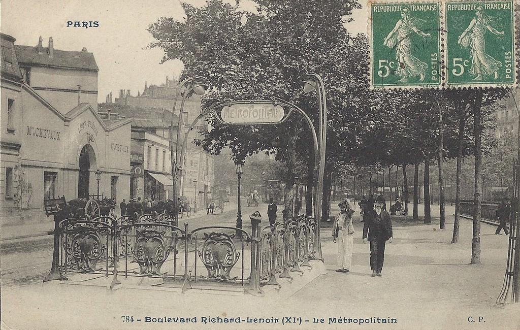 News de paris xie arr page 5 cartes postales for Hotel boulevard richard lenoir paris