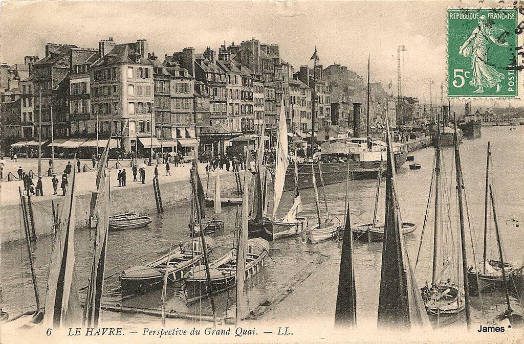 Le Havre - Quais, ports, bassins : Le Havre | Cartes Postales Anciennes sur CPArama