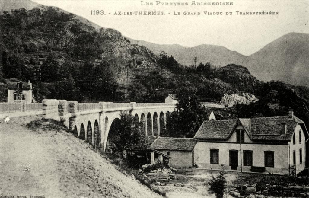 Gran viaduc du Tranpirénéen (Ax-les-Thermes)