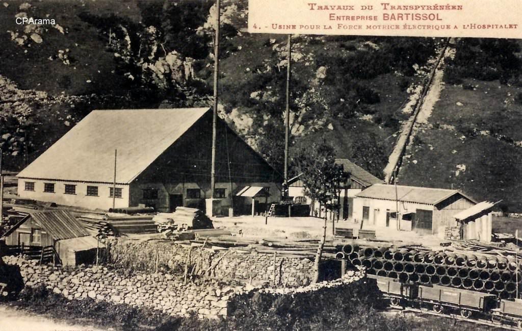 l'Hospitalet près d'Andorre (usine éléctrique)