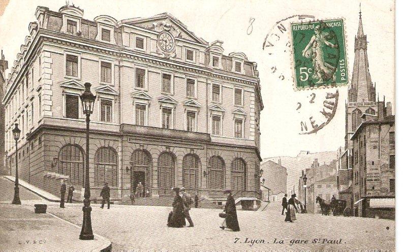 Favori Lyon - Gare Saint-Paul : Lyon | Cartes Postales Anciennes sur CPArama SQ65