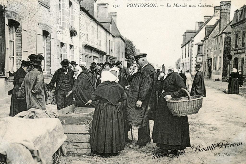 Pontorson : 50 - Manche | Cartes Postales Anciennes sur CPArama