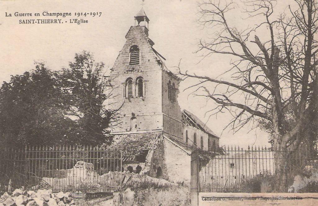 Saint thierry 51 marne cartes postales anciennes sur for 51 haute marne